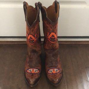 Auburn University Cowgirl Boots